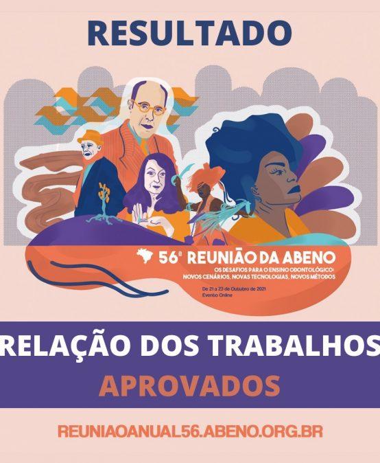 TRABALHOS APROVADOS