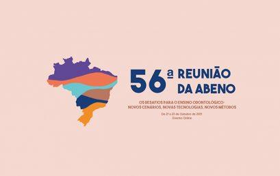 ÚLTIMOS DIAS PARA INSCRIÇÃO NA 56ª REUNIÃO DA ABENO